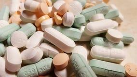 de geassorteerde geneeskunde van het pillenvoorschrift stock afbeeldingen