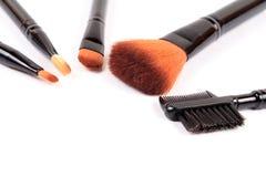 De geassorteerde make-up bloost Royalty-vrije Stock Afbeeldingen