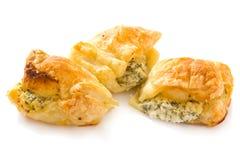 De gebakjes van de kaas stock afbeeldingen