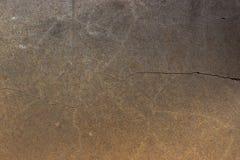 De gebarsten achtergrond van de muurvloer Stock Foto's