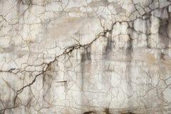 De gebarsten concrete achtergrond van de muurtextuur Stock Afbeeldingen