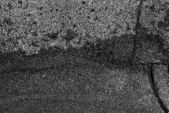 De gebarsten concrete achtergrond van de textuurclose-up Royalty-vrije Stock Afbeelding