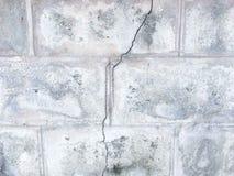 De gebarsten marmeren achtergrond van de muurtextuur Stock Afbeeldingen