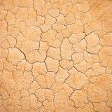 De gebarsten Textuur van de Aarde stock foto