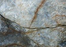 De gebarsten textuur van de granietrots Royalty-vrije Stock Foto