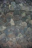 De gebarsten textuur van de lavarots Royalty-vrije Stock Fotografie