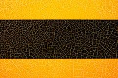 De gebarsten textuur van de verfoppervlakte Stock Fotografie