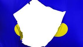 De gebarsten vlag van Brussel royalty-vrije illustratie