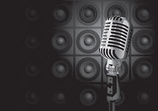 De Gebeurtenis van de muziek (vector) Stock Foto