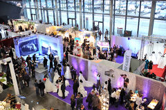 De gebeurtenis van het huwelijk in Frankfurt 2012 Stock Afbeeldingen