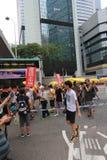 2015 de gebeurtenis van Hong Kong maart van 26ste verjaardag van de Vierkante protesten van Tiananmen van 1989 Stock Foto's