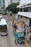 De gebeurtenis van Hong Kong maart van 26ste verjaardag van de Vierkante protesten van Tiananmen van 1989 Stock Afbeeldingen