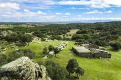 De gebieden van Castilla Stock Foto