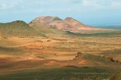 De Gebieden van de lava Stock Foto's