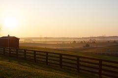 De Gebieden van het landbouwbedrijf Royalty-vrije Stock Afbeeldingen