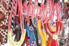 De Gebiedenmarkt van het rijstterras Stock Afbeeldingen