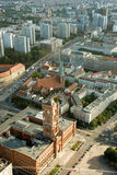 De Gebiedsmening van Berlijn Royalty-vrije Stock Foto's