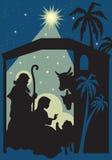 De geboorte van Christus van Jesus Royalty-vrije Stock Afbeelding