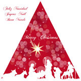 De geboorte van Christus van Jesus Royalty-vrije Stock Afbeeldingen
