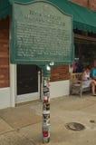 De Geboorteplaats van Rots - en - broodje, van Elvis Presley en van de Zon Verslagen Royalty-vrije Stock Fotografie