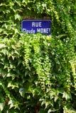 De geboortestad van Claude Monet, Giverny Royalty-vrije Stock Afbeeldingen