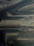 De geborstelde abstracte achtergrond van de metaaltextuur Royalty-vrije Stock Foto