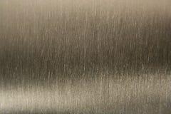 De geborstelde Achtergrond van het Aluminium Stock Foto's