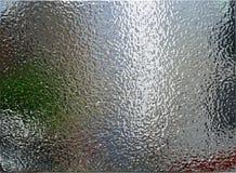De geborstelde Textuur van het Metaal stock foto's