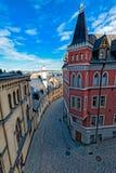 De Gebouwen en de Architectuur van Stockholm Royalty-vrije Stock Afbeeldingen