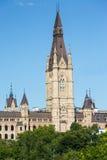 De Gebouwen en de Horizon van Ottawa Ontario Stock Foto