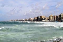 De gebouwen van Alexandrië stock afbeelding
