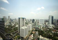 De Gebouwen van Bangkok Royalty-vrije Stock Afbeelding