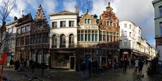 De gebouwen van België stock afbeelding