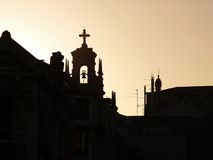 De gebouwen van Bilbao Royalty-vrije Stock Afbeelding