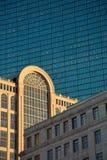 De gebouwen van Boston Royalty-vrije Stock Afbeeldingen