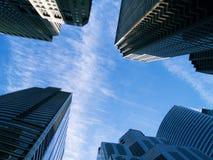 De gebouwen van Chicago Royalty-vrije Stock Foto's