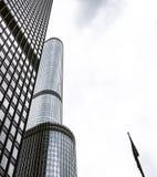 De gebouwen van Chicago Stock Afbeelding