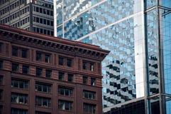 De gebouwen van Chicago, de Verenigde Staten van Amerika Stock Afbeelding