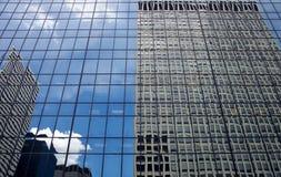 De gebouwen van Chicago, de Verenigde Staten van Amerika Stock Foto's