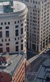 De gebouwen van de binnenstad Stock Fotografie