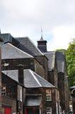 De gebouwen van de Glenmorangiedistilleerderij Stock Afbeeldingen
