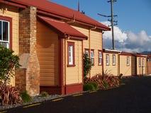 De gebouwen van de post Stock Afbeeldingen