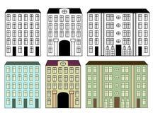 De gebouwen van de stad Royalty-vrije Stock Fotografie
