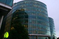 De gebouwen van de stad Stock Afbeelding