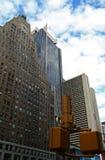 De Gebouwen van de Stad van New York Stock Foto