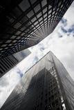 De Gebouwen van de Stad van New York Stock Afbeeldingen
