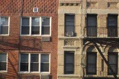 De Gebouwen van de Stad van New York Stock Foto's