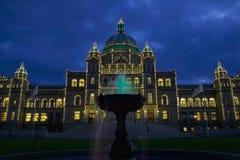 De Gebouwen van de wetgevende macht BC Stock Afbeelding