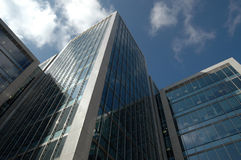 De gebouwen van de wolkenkrabber in Londen Stock Foto's