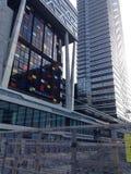 De gebouwen van Den Haag Royalty-vrije Stock Foto's
